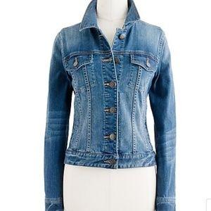 J. Crew Jackets & Coats - J. Crew Denim Stretch Jacket Size XXS